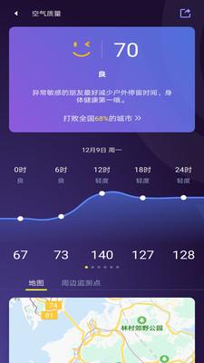 中国天气怎么设置本地天气预报