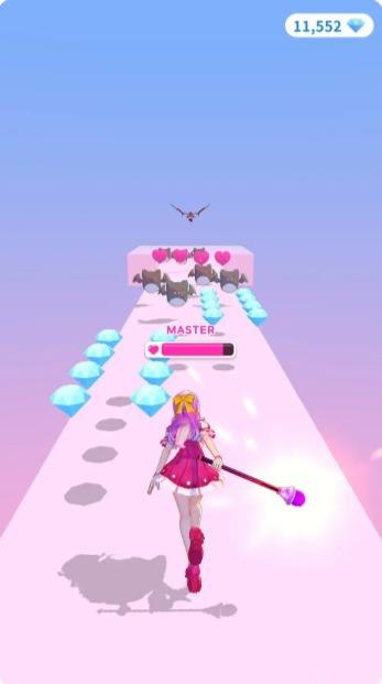 魔法少女跑酷游戏