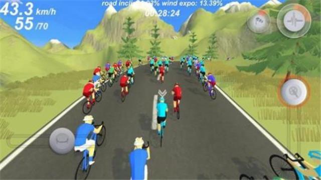 职业自行车竞速模拟Pro Cycling Simulation